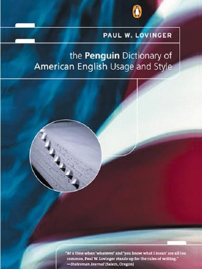 دانلود کتاب Penguin Dictionary of American English Usage and Style