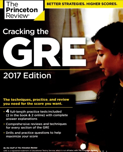 Cracking the GRE 2017 Edition ویرایش سال 2017