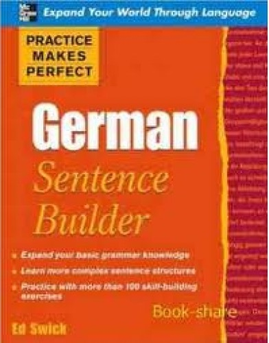 Practice Makes Perfect - German Sentence Builder